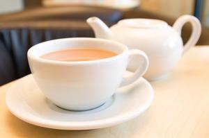 Juego de taza de té y tetera
