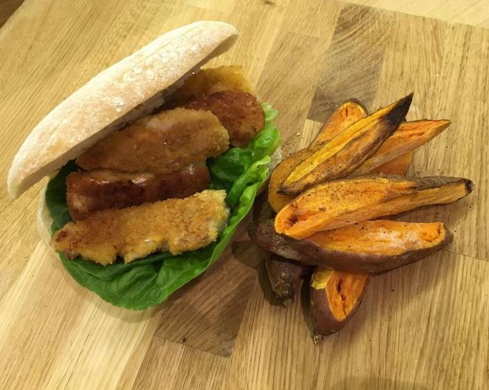 La receta del sandwich de pescado de Linda Barker