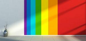 Muro multicolor