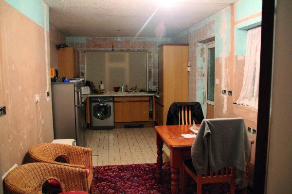 Estudio de caso de la cocina del cliente antes de la renovación